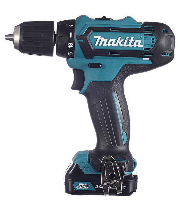 Купить Дрель-шуруповерт аккумуляторная Makita DF331DWAE 10.8 В 2 Ач 30 Нм Li-Ion