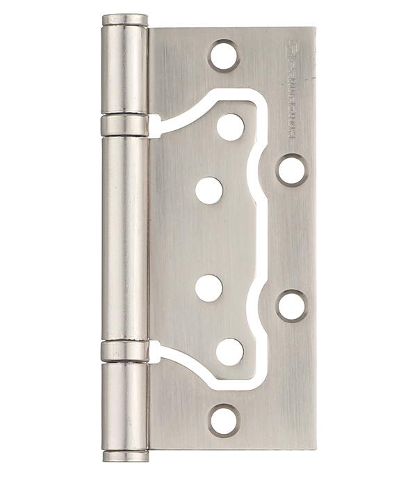 Петля накладная Palladium 2BB-100 SN матовый никель дверные петли koral петля накладная без врезки 5x3x2 5 cp хром