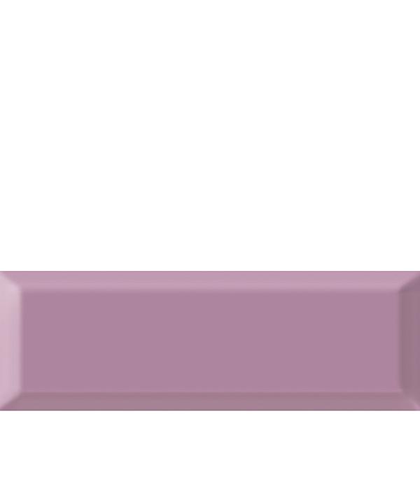 Плитка облицовочная Метро 100х300х8 мм светло-лавандовая (21 шт=0.63 кв.м) плитка декор 100х300х8 мм метро гжель 01 бело синий