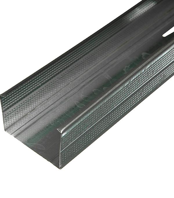 Профиль стоечный Оптима 75х50 мм 4 м 0.45 мм пн 75х40 3 м оптима 0 45 мм