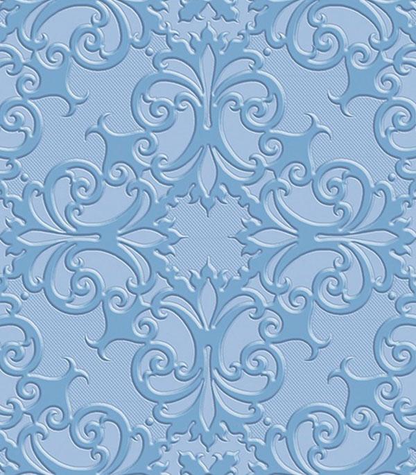Плитка облицовочная Прованс Люкс 250х500х8мм синяя (10 шт=1,25 кв.м)