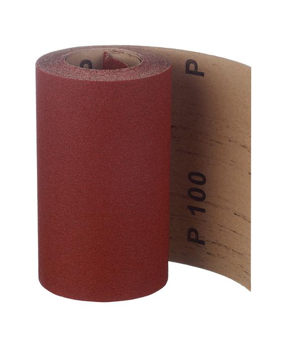 Наждачная бумага коричневая P100 115 мм 5 м