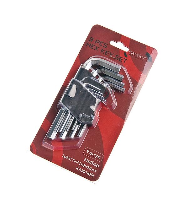 Ключ 6-гранный 1.5-10 мм набор (9 шт) велосипедная цепь kmc 3 6 8 9 10 bk42