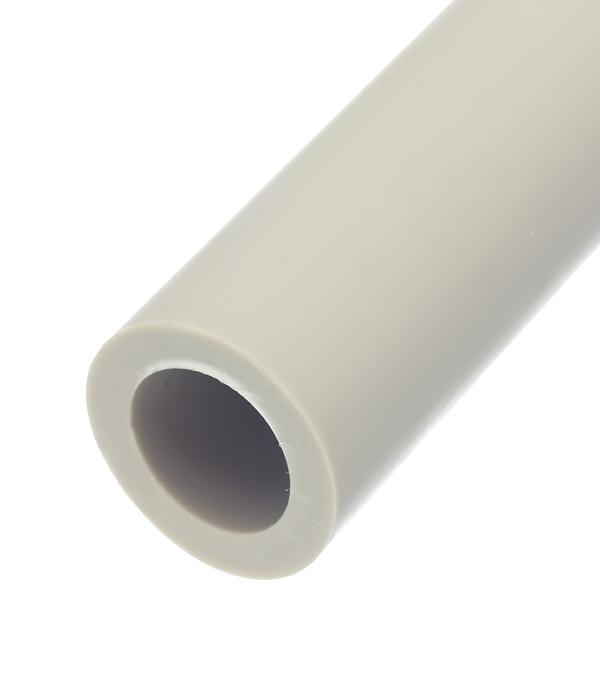 Труба полипропиленовая 40х2000 мм PN 20 FV-PLAST серая труба полипропиленовая 25х2000 мм pn 20 серая