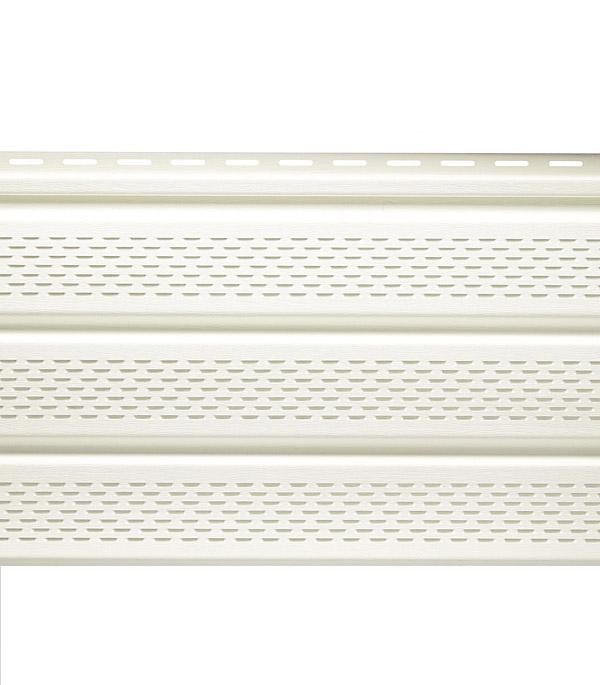 Сайдинг Vinyl-On софит перфорированный 3000х305 мм белый сайдинг vinyl on планка финишная 3660 мм белая