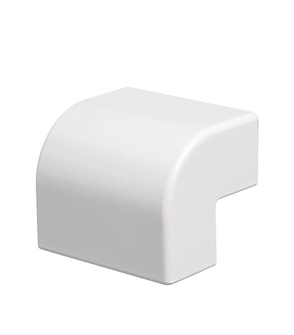 Внешний угол для кабель-канала ДКС 40х17 мм белый