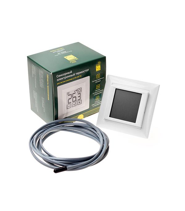 цена на Терморегулятор SPYHEAT электронный сенсорный SDF-419В белый