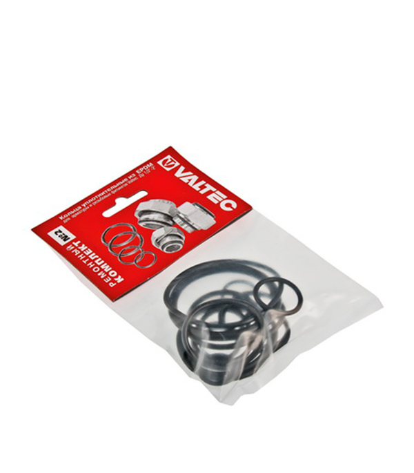 Купить Набор сантехнических прокладок EPDM Valtec № 2 резина, Резина