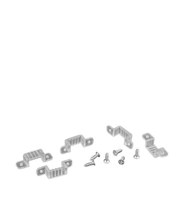 Клипса для ленты 3528/220, (10шт)