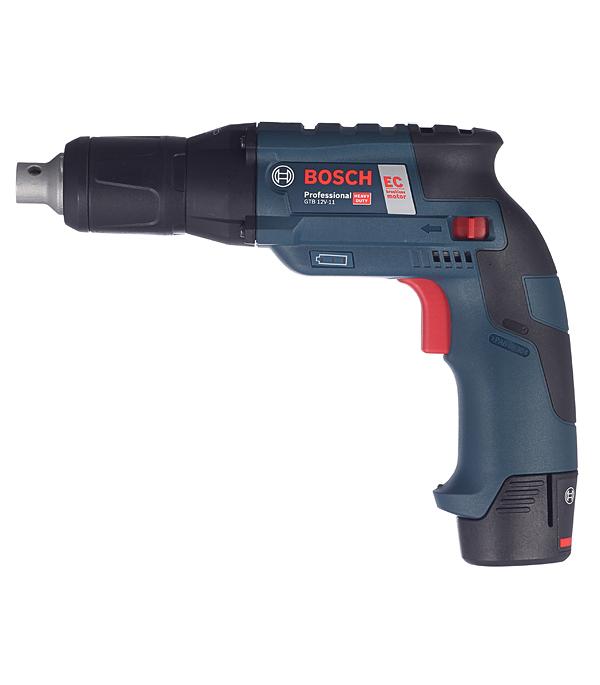 Купить Дрель-шуруповерт аккумуляторная Bosch GTB 12V-11 Professional 12 В 2.5 Ач 11 Нм Li-Ion