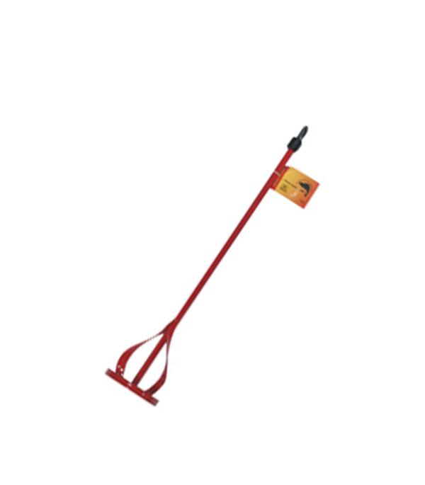 Миксер-насадка для красок и клеев 80х400 мм миксер оцинкованный 400х80 мм для красок и штукатурных смесей вихрь