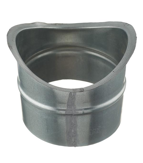 Врезка оцинкованная для круглых стальных воздуховодов d160х125 мм врезка оцинкованная для круглых стальных воздуховодов d200х200 мм