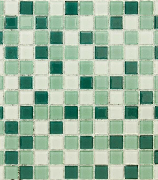 Мозаика стеклянная 298x298х4 мм Peppermint ароматизатор peppermint