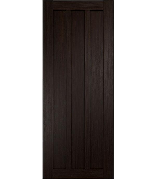Дверное полотно экошпон Интери 3-0 венге 600х2000 мм глухое без притвора yuhuaze красота ящик для одежды темная ручка шкаф для шкафа дверная ручка раздвижная дверная ручка single single piece 64 pitch