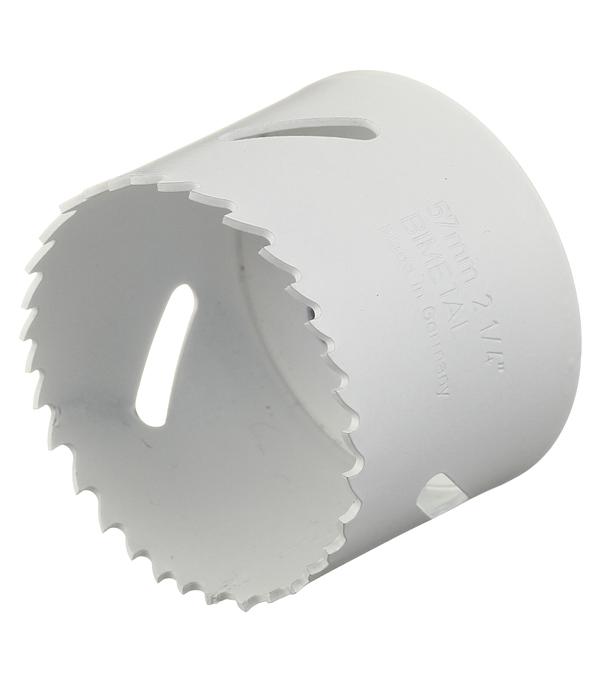 Коронка универсальная Wilpu Профи 57 мм крупный зуб коронка универсальная 65 мм крупный зуб wilpu профи