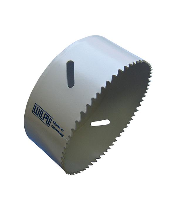 Коронка универсальная Wilpu Профи 102 мм крупный зуб коронка универсальная 65 мм крупный зуб wilpu профи