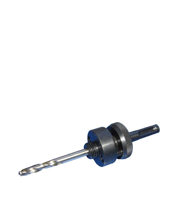 Переходник адаптер для коронок Wilpu Профи 32-210 мм ZE7 с хвостовиком SDS-plus переходник для коронок bosch 14 152мм sds plus 2 608 584 675