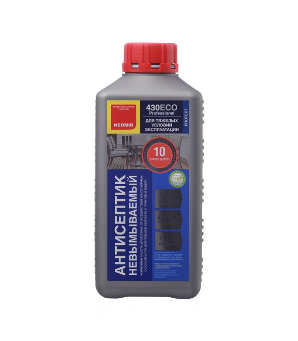 Антисептик NEOMID 430 ЕСО невымываемый концентрат 1:9 1 кг антисептик neomid extra eco трудновымываемый 5л