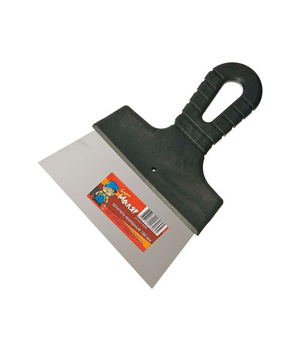 Шпатель малярный 150 мм малярный шпатель truper 15853