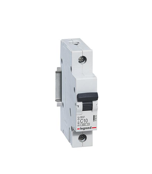Автомат 1P 25А тип С 4.5 kA Legrand RX3 автомат 3p 63а тип с 6 ka abb s203
