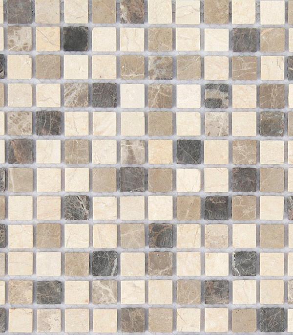 Мозаика из натурального камня 298х298х4 мм Pietra Mix 1 MAT