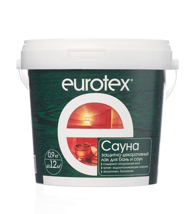 Лак Eurotex Сауна 0.9 кг