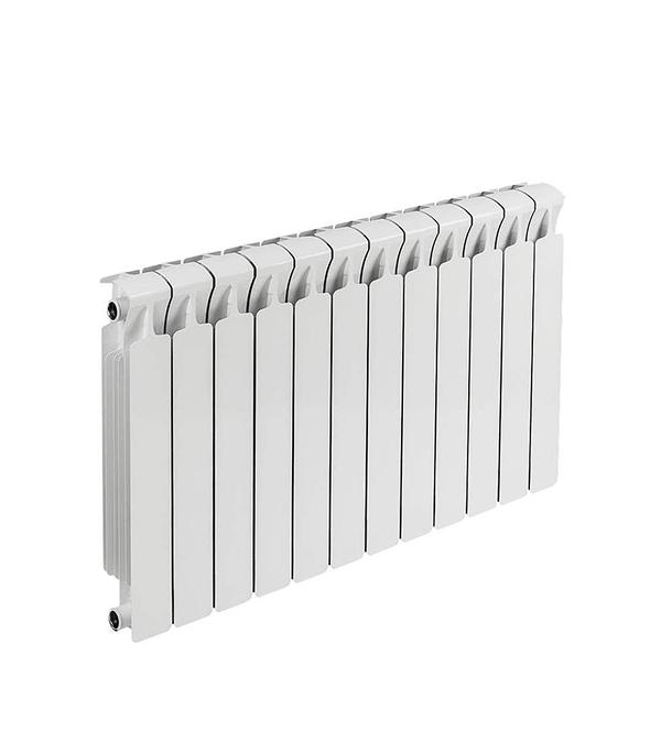 """Радиатор биметаллический 3/4"""" Rifar Monolit 500, 12 секций"""