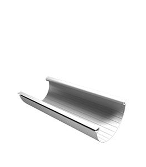 Купить Желоб водосточный Vinyl-On пластиковый 3 м белый, Белый, Пластик