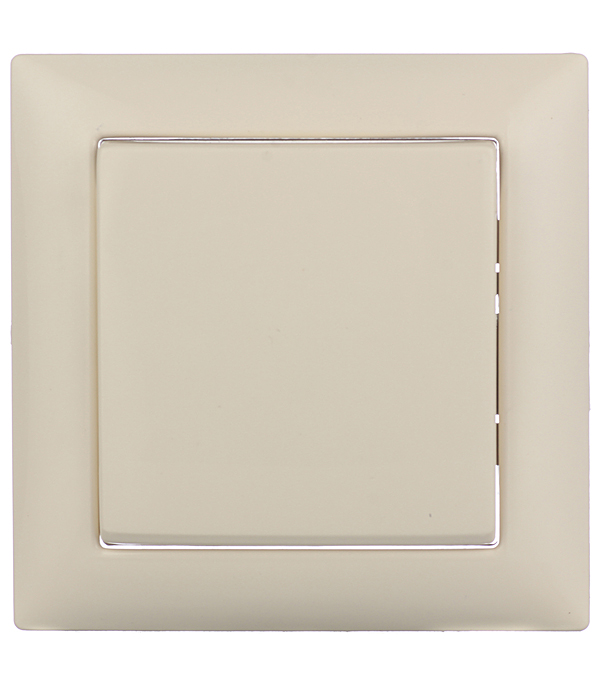 Выключатель одноклавишный Селена с/у слоновая кость 250В 10А выключатель одноклавишный legrandquteo о у влагозащищенный ip 44 белый