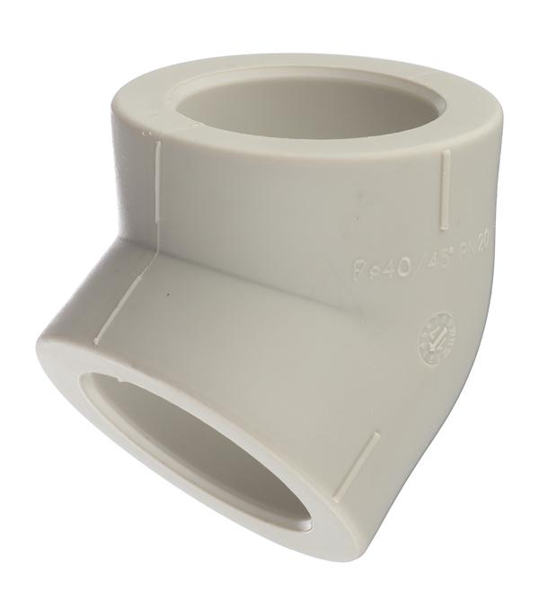 Купить Угол полипропиленовый 40 мм, 45° FV-PLAST серый