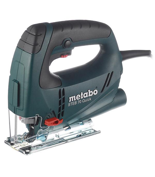 цена на Лобзик электрический Metabo STEB70 Quick 570 Вт