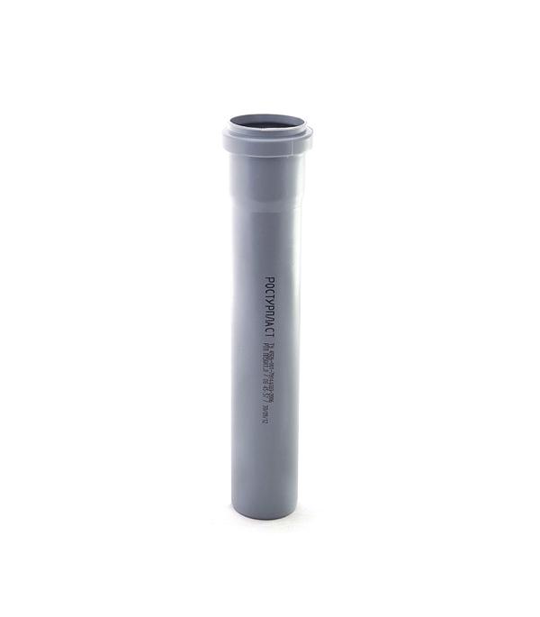 Труба канализационная внутренняя 32х1000 мм, РТП труба канализационная внутренняя 32х250 мм ртп