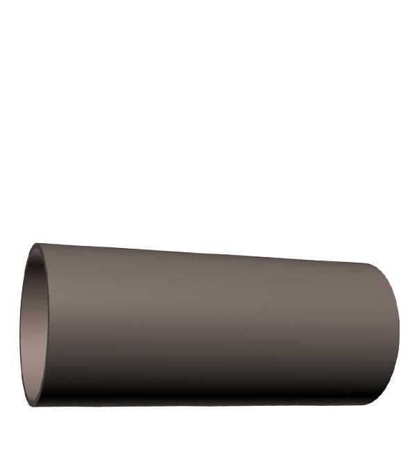 Купить Труба водосточная пластиковая Docke Lux d100 мм 3 м шоколад, Коричневый, Пластик