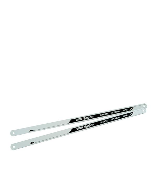 Полотно по металлу Stanley Fatmax биметаллическое 300 мм 32 зуб/дюйм (2 шт) полотно fatmax по металлу 2 шт 300 мм 32tpi stanley fmht0 20196