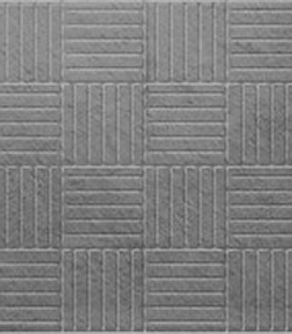 Купить Плитка тротуарная Паркет 300х300х30 мм серая, Серый, Бетон