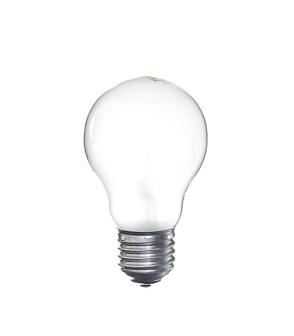 Лампа накаливания Philips E27 40W A55 груша FR матовая