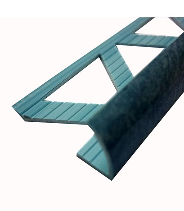 Уголок ПВХ для кафельной плитки наружный 9х2500мм голубой нефрит уголок пвх rico moulding 20х20х2700мм бук натуральный