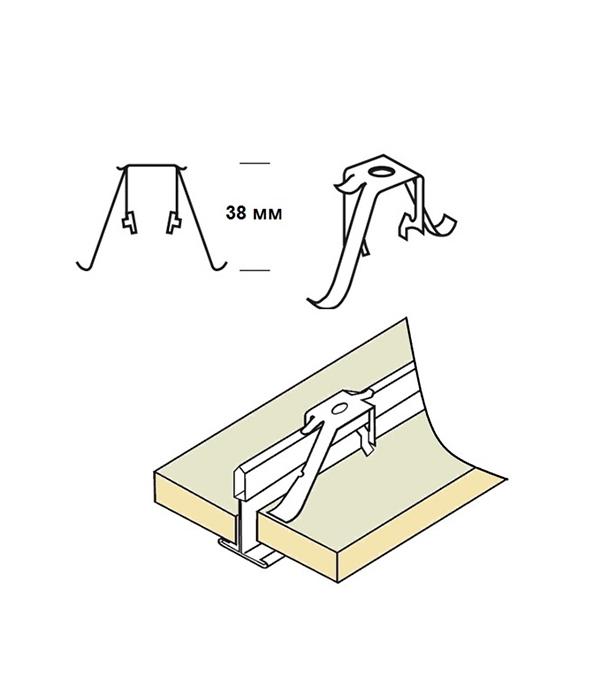 Прижимная клипса для панелей 6-30 мм Armstrong клипса для крепления фона lumifor lac cl4