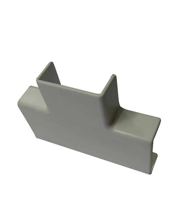 цены Тройник для кабель-канала ДКС 25х17 мм белый