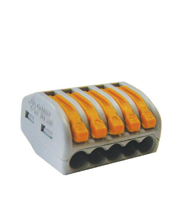 Соединительная клемма TDM на 5 провода СК-415 0.1-2.5 кв.мм без пасты (5 шт) цена 2017