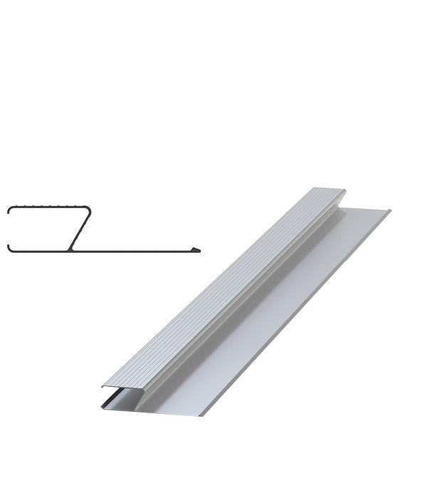 Правило алюминиевое h-образное 1 м