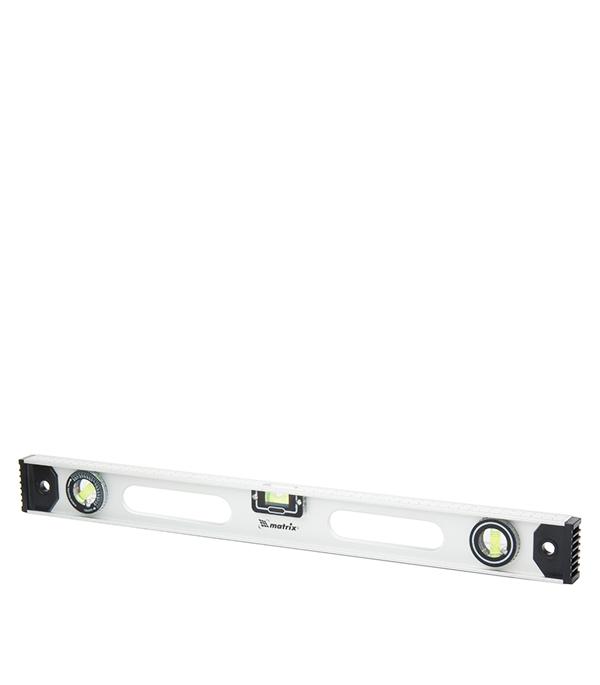 Уровень Matrix 40 см 3 глазка двутавровый алюминиевый уровень 800 мм matrix рельс 34026