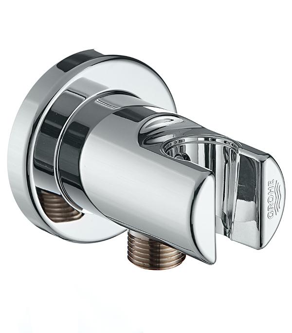 Держатель для лейки с подключением шланга для систем скрытого монтажа GROHE RELEXA 28628000 верхний душ grohe relexa deluxe 27530000