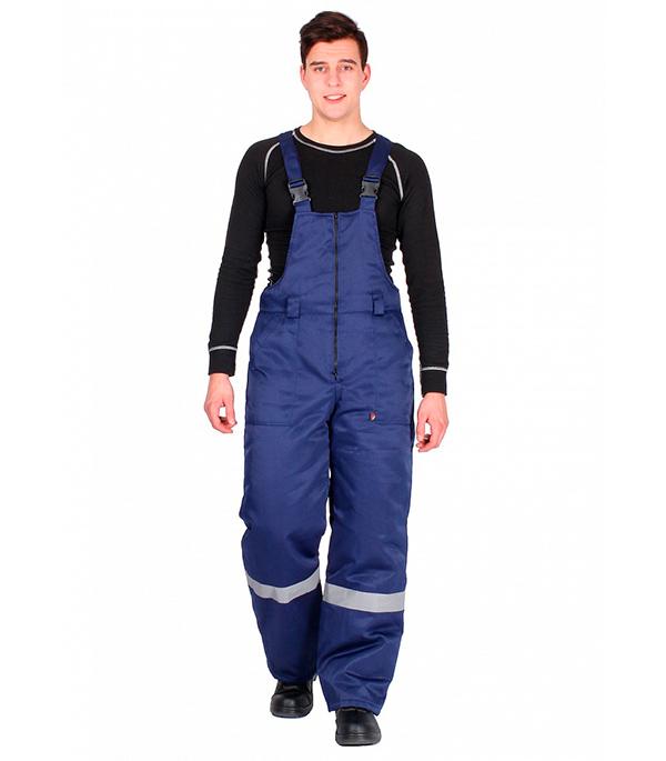 цены Полукомбинезон зимний Delta Plus Эксперт-Люкс размер 48-50, рост 170-176, темно-синий цвет
