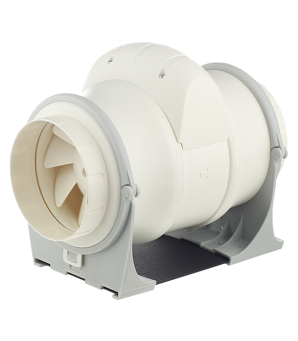 Вентилятор канальный осевой d125 мм Cata Duct In Line 125/320 слоновая кость вентилятор канальный cata duct in line 100 130 smt 100