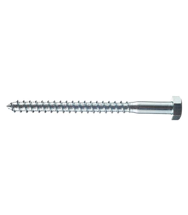 Болты сантехнические оцинкованные 8х100 мм DIN 571 (20 шт) болты сантехнические оцинкованные 8х70 мм din 571 20 шт