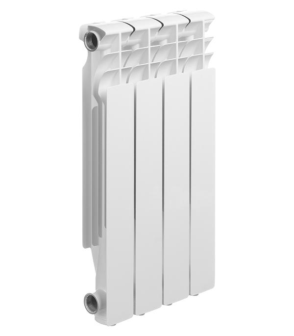 Радиатор алюминиевый литой Halsen L-500/80, 4 секции