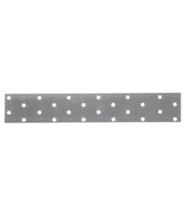Пластина соединительная оцинкованная 240х40х2 мм
