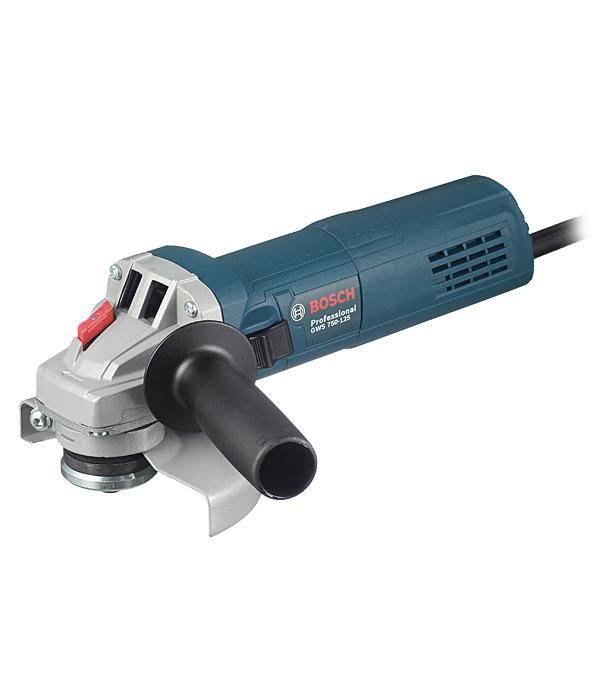 Шлифмашина угловая (УШМ) Bosch GWS 750-125 750 Вт 125 мм угловая шлифмашина bosch gws 750 125 [06013940r3]