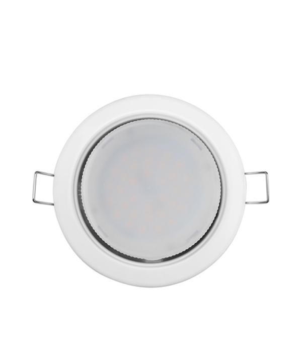 Светильник встраиваемый для лампы GX53 100мм белый